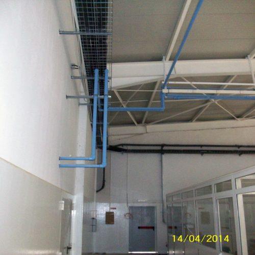 Réalisations centrales d'air comprimé