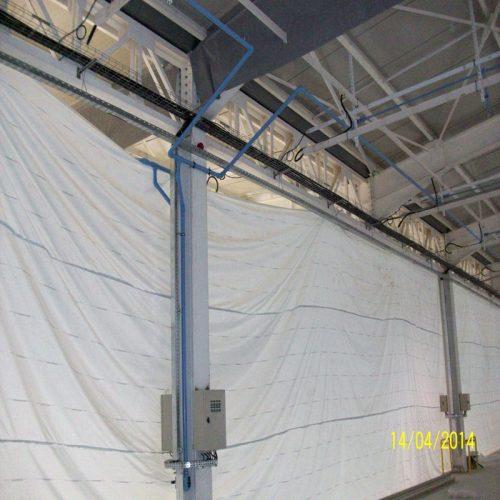 Réalisation d'une central d'air comprimé