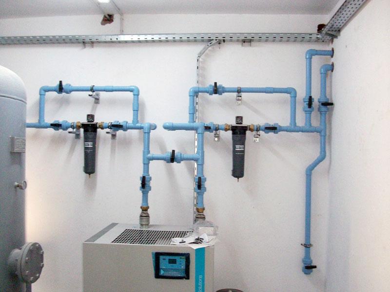 installation air comprimé industriel