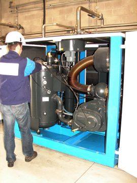 maintenance compresseur air