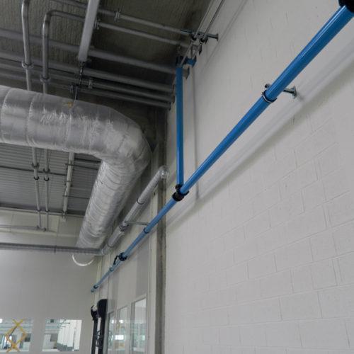 Installation de réseau d'air comprimé