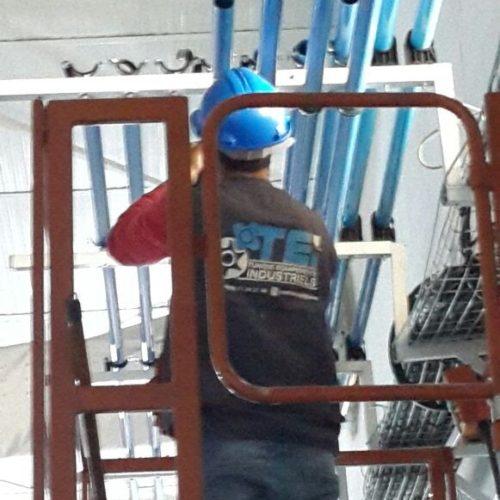 Renovation central d'air comprimé Groupe Zodiac Aerospace
